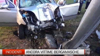 Incidenti - Due vittime bergamasche