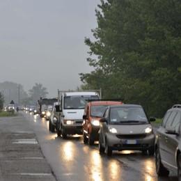 Pioggia, lunedì di traffico congestionato Segui le nostre news in tempo reale