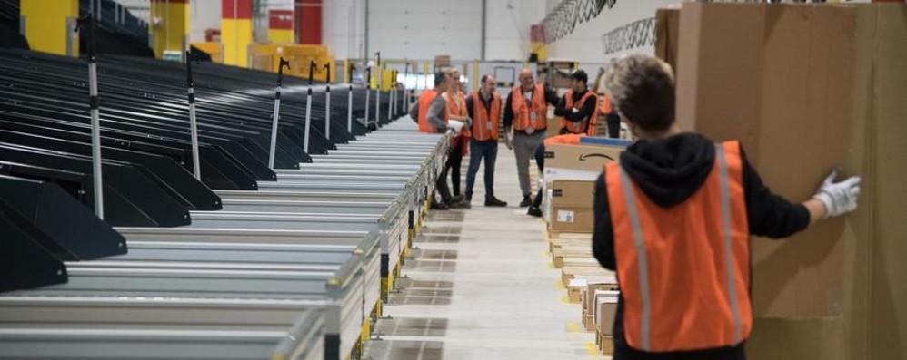 Aperto il nuovo centro Amazon A Casirate lavoro per 400 addetti