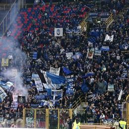 Lancio di fumogeni durante la partita Atalanta multata dal giudice sportivo