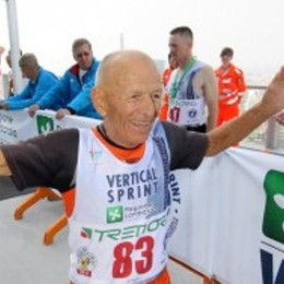 «I miei primi 90 anni, sempre di corsa» La storia del maratoneta Lavelli