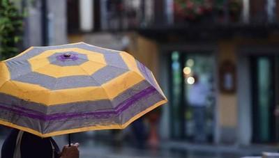 Una pioggia a colori