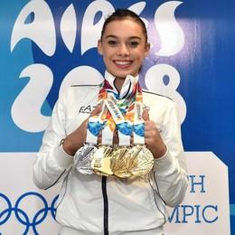 Giorgia,  ragazza d'oro della ginnastica Nel 2018 ha vinto veramente tutto