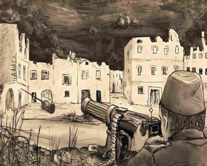 IL BATTAGLIONE BOSNIACO - CARZANO 1917: IL GRANDE TRADIMENTO