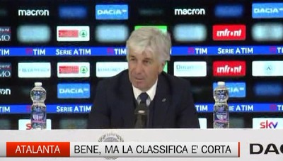Gasperini dopo la vittoria a Udine Stiamo prendendo fiducia