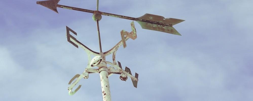 Il vento porta cieli limpidi e il freddo Poi a Santa Lucia forse la neve