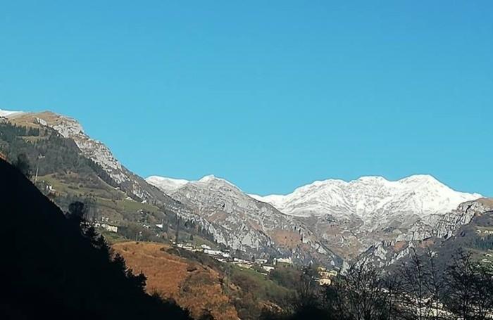 cielo terso nelle nostre valli