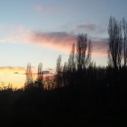 La luce del tramonto