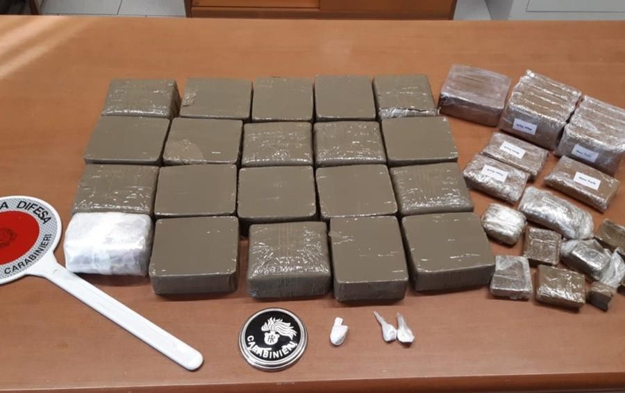 Verdello, altro maxi sequestro di droga Sequestrati 12 kg di hashish, un arresto