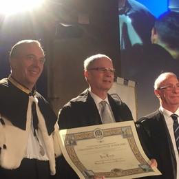 Università, nuovo anno accademico Dottorato honoris causa a Jean Tirole