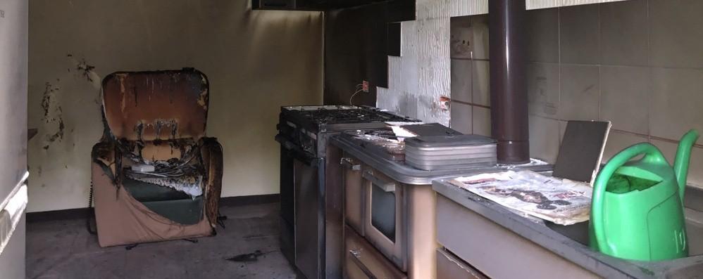 Ustionato dopo lo scoppio in cucina È morto il 71enne di Santa Brigida
