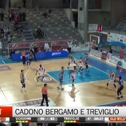 Basket, sconfitte Bergamo e Treviglio