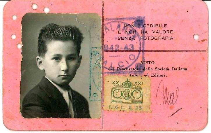 Quella tessera del 1942 «Io, atalantino da 76 anni»