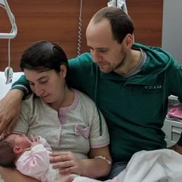 Festa di Santa Lucia speciale a  Miragolo Dopo 13 anni nasce una bambina