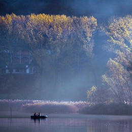 «Pesca al lago d'Endine...»