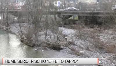 Valle Seriana, appello per il rischio effetto tappo del fiume Serio