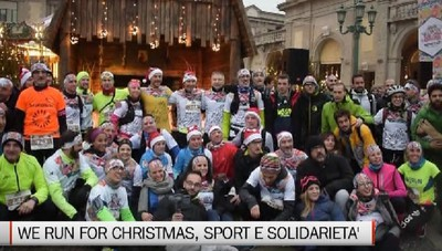 We Run for Christmas, quasi mille partecipanti alla staffetta benefica