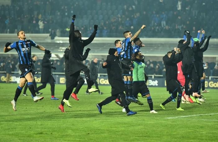 17 Dicembre 2018 SERIE A Atalanta-Lazio Nella foto: esultanza fine partita