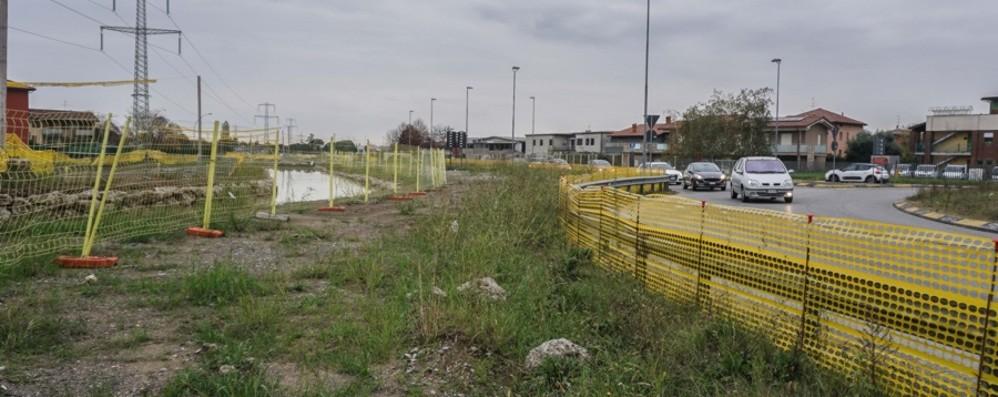 Treviolo-Valbrembo, tutti contro tutti Cantiere fermo, già un anno di ritardo
