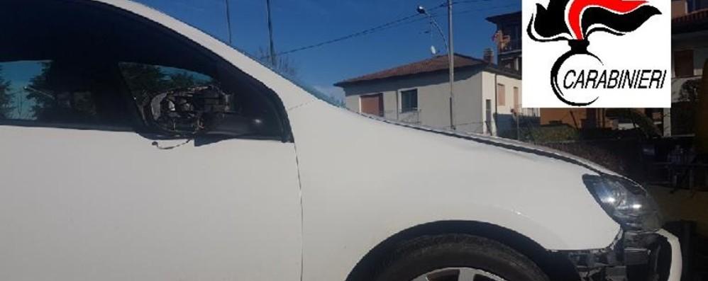 Pedone investito da un'auto a Caravaggio Arrestato il «pirata» per omicidio stradale