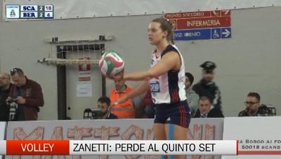 Zanetti: perde al tie break contro Scandicci