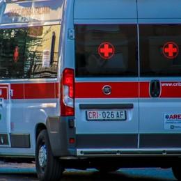 Incidente tra più auto a Torre Boldone Cinque feriti, traffico in tilt sulla Provinciale