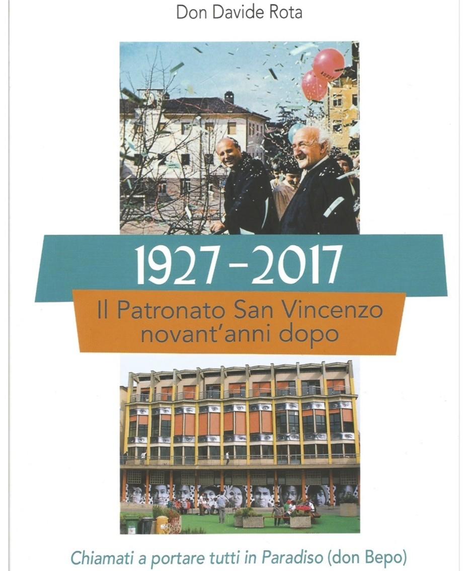 La copertina del libro scritto da don Davide Rota