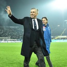 Ancelotti plaude il pubblico di Bergamo «Esemplare, un esempio di civiltà»