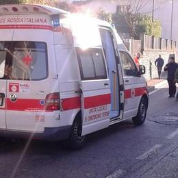 Investito mentre attraversa la strada Berbenno, 84enne ricoverato in ospedale