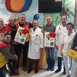 Bergamo e Ravenna enduristi solidali Donati due trapani salva vita all'ospedale