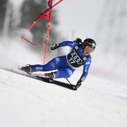 Sofia Goggia torna a sciare a Pila Rientro previsto per le gare di Cortina
