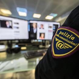 Polizia postale, nel 2018 aumentati  i minori vittime di reati online