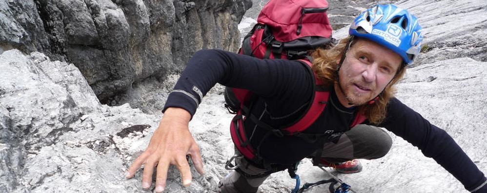 Al Palamonti Andy Holzer Non vedente che ha scalato l'Everest