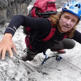Bergamo, al Palamonti Andy Holzer Non vedente che ha scalato l'Everest