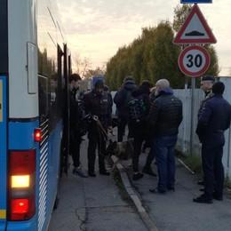 Controlli antidroga sui bus degli studenti In azione anche «Caf» e «Bastian»