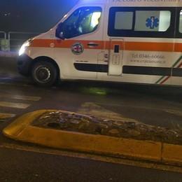 Incidente tra due auto a Gazzaniga Coinvolti anche due bambini di 3 e 9 anni