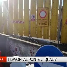 Ponte di Calusco, lavori non in corso?    «Non sembra proprio», il comitato protesta