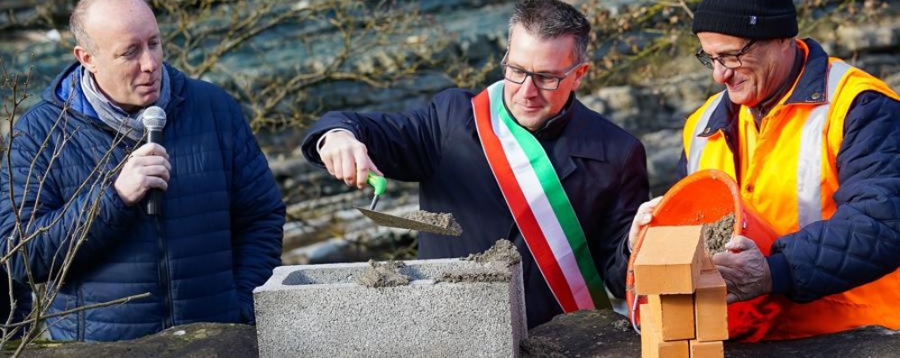 Ponte di San Giovanni Bianco al via Posata la prima pietra - Video