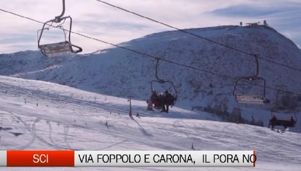 Sci: venerdì aprono gli impianti a Foppolo e Carona