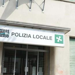 Sul vecchio sito della Polizia locale si vendono scarpe e magliette