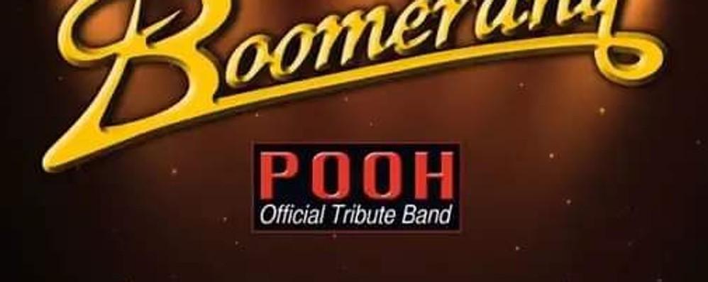 La musica dei Pooh con i Boomerang Concerto per Jenni venerdì a Nembro