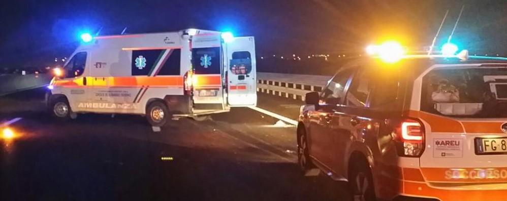 Schianto tra auto e moto sulla ex 525 Feriti due uomini a Osio Sopra