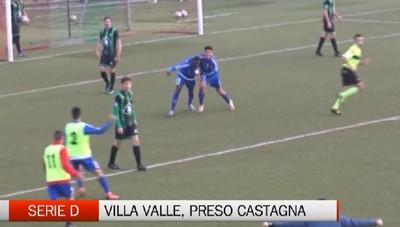Serie D, il Villa Valle prende Toro Castagna