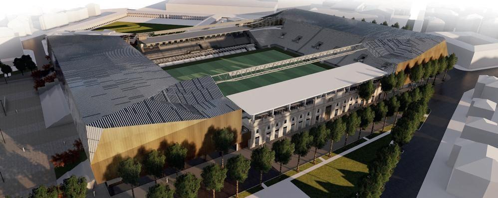 Stadio, a settembre pronta la curva Nord Nasce la terza piazza della città