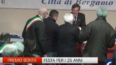 25 anni di premio bontà Città di Bergamo