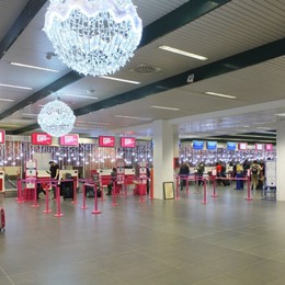 Nuovo volto per l'aeroporto di Orio Completato il restyling dell'area check in