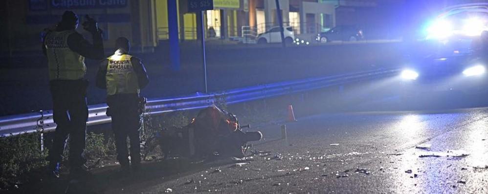Osio, schianto tra uno scooter e un suv Resta in gravi condizioni il 45enne ferito