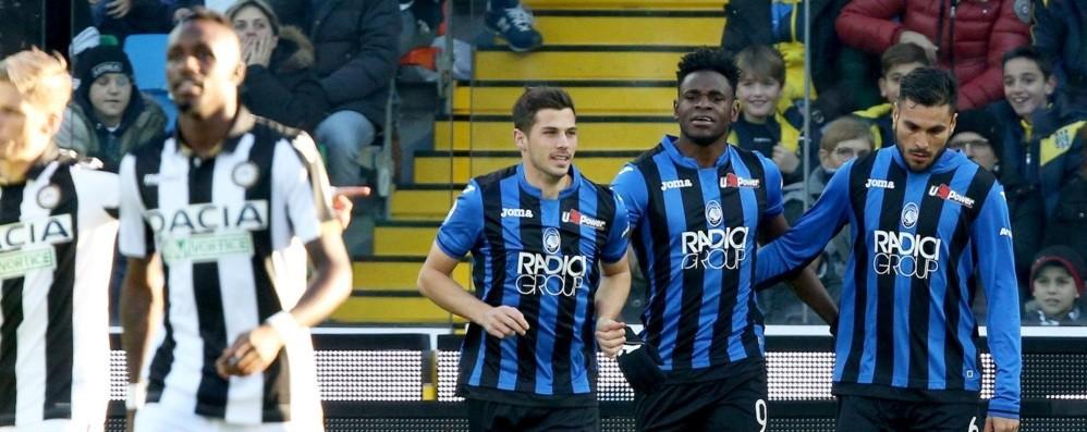 Atalanta, vittoria pesante a Udine Zapata c'è: ora inizia un altro campionato