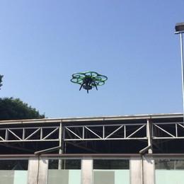La Regione: droni per la Polizia locale «Sorvegliamo le zone franche»
