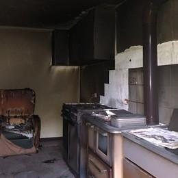 Un boato e fiamme a Santa Brigida Scoppio in cucina: ustionato 71enne